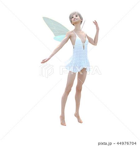 リアルな天使 perming3DCG イラスト素材 44976704