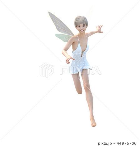 リアルな天使 perming3DCG イラスト素材 44976706