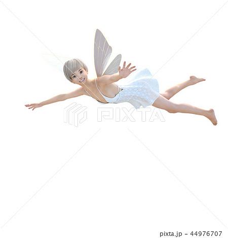 リアルな天使 perming3DCG イラスト素材 44976707