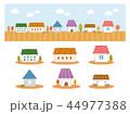 かわいい家のアイコン素材(秋) 44977388