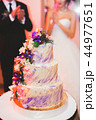 ケーキ ウエディング 花の写真 44977651