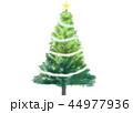 クリスマスツリー 44977936