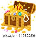 宝箱に入った財宝 44982259