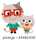 ネコの親子 44982438