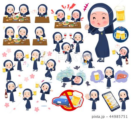 Nun women_alcohol 44985751