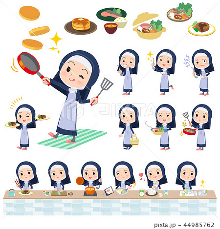 Nun women_cooking 44985762