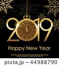 ベクター 2019 ゆきのイラスト 44988790