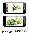 都会 都市 GPSのイラスト 44989370
