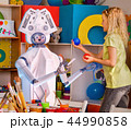 Child training of artificial intelligence by robot. 44990858