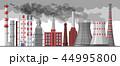 工場 製造所 えんとつのイラスト 44995800