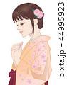 着物 恋 女の子のイラスト 44995923