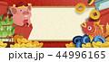 中国新年 アート 美術のイラスト 44996165