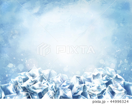Icy cube background 44996324