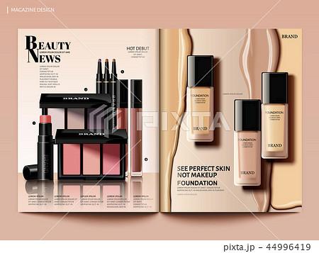 Beauty magazine design 44996419