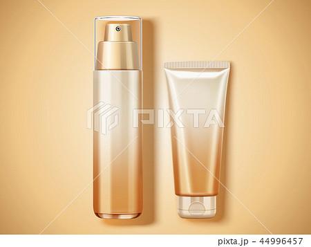Top view cosmetic mockup 44996457