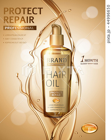 Hair oil ads 44996650