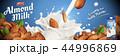 広告 アーモンド ハタンキョウのイラスト 44996869