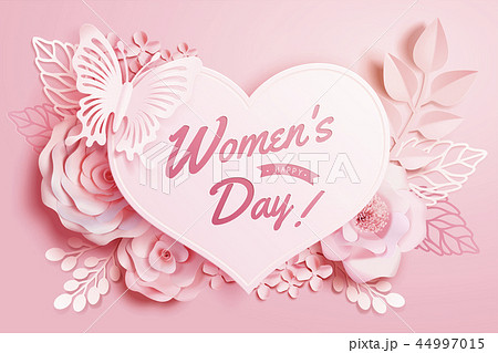 Women's Day floral decorations 44997015