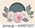 花 フローラル お花のイラスト 44997027