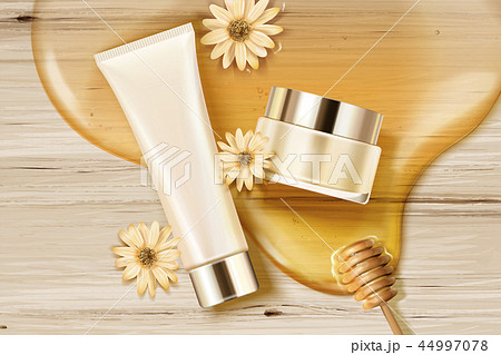 Honey skincare containers 44997078