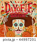 Cheerful day of the dead poster 44997201