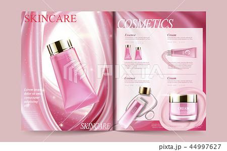 Cosmetic magazine template 44997627
