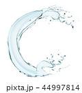 水 しずく 滴のイラスト 44997814