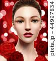 ビューティー 美人 化粧のイラスト 44997834