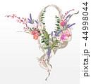 フローラル フラワー 花のイラスト 44998044
