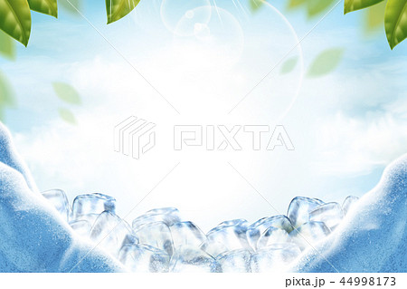 Cool ice background 44998173