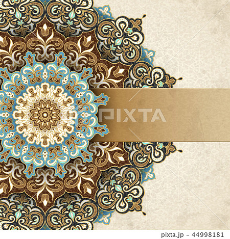 Exquisite arabesque card 44998181