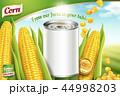 広告 トウモロコシ コーンのイラスト 44998203