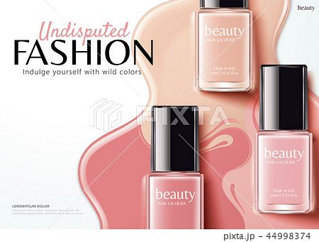 Fashion nail lacquer ads 44998374