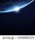 宇宙 射光 煌きのイラスト 44998429
