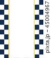 市松模様 和紙 和柄のイラスト 45004967