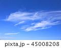 雲 青空 白雲の写真 45008208