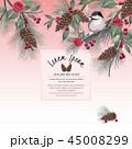 フローラル 花 ベクターのイラスト 45008299