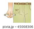 アナフィラキシー 急性アレルギー反応 ベクターのイラスト 45008306