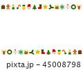 ベクター クリスマス カードのイラスト 45008798