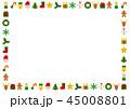 ベクター クリスマス カードのイラスト 45008801
