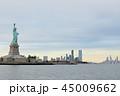 マンハッタンと自由の女神 45009662