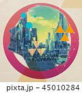 アート デジタルアート 街の写真 45010284
