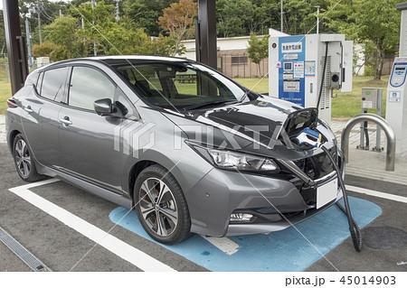 電気自動車充電スポット利用する高速道路サービスエリア急速充電設備EV QUICK CHARGER 45014903