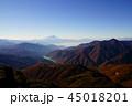 山 風景 晴れの写真 45018201