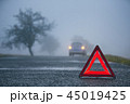 Traffic problem in thick fog 45019425