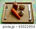 収穫・味覚・健康食・根菜ディナー 45022954