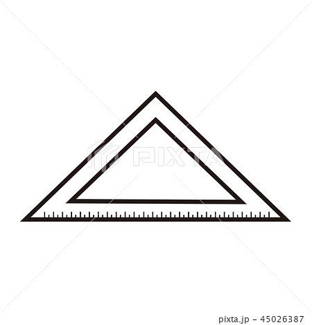 三角定規 45026387