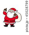 サンタクロース 45028799