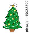 クリスマスツリー 45028800