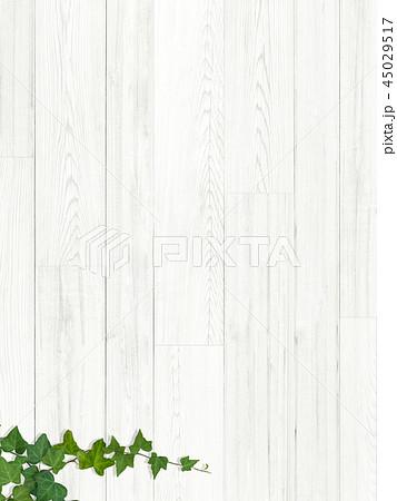 背景-板-木目-壁-蔦-葉 45029517